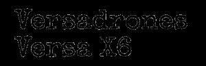 Text Versadrones Versa X6